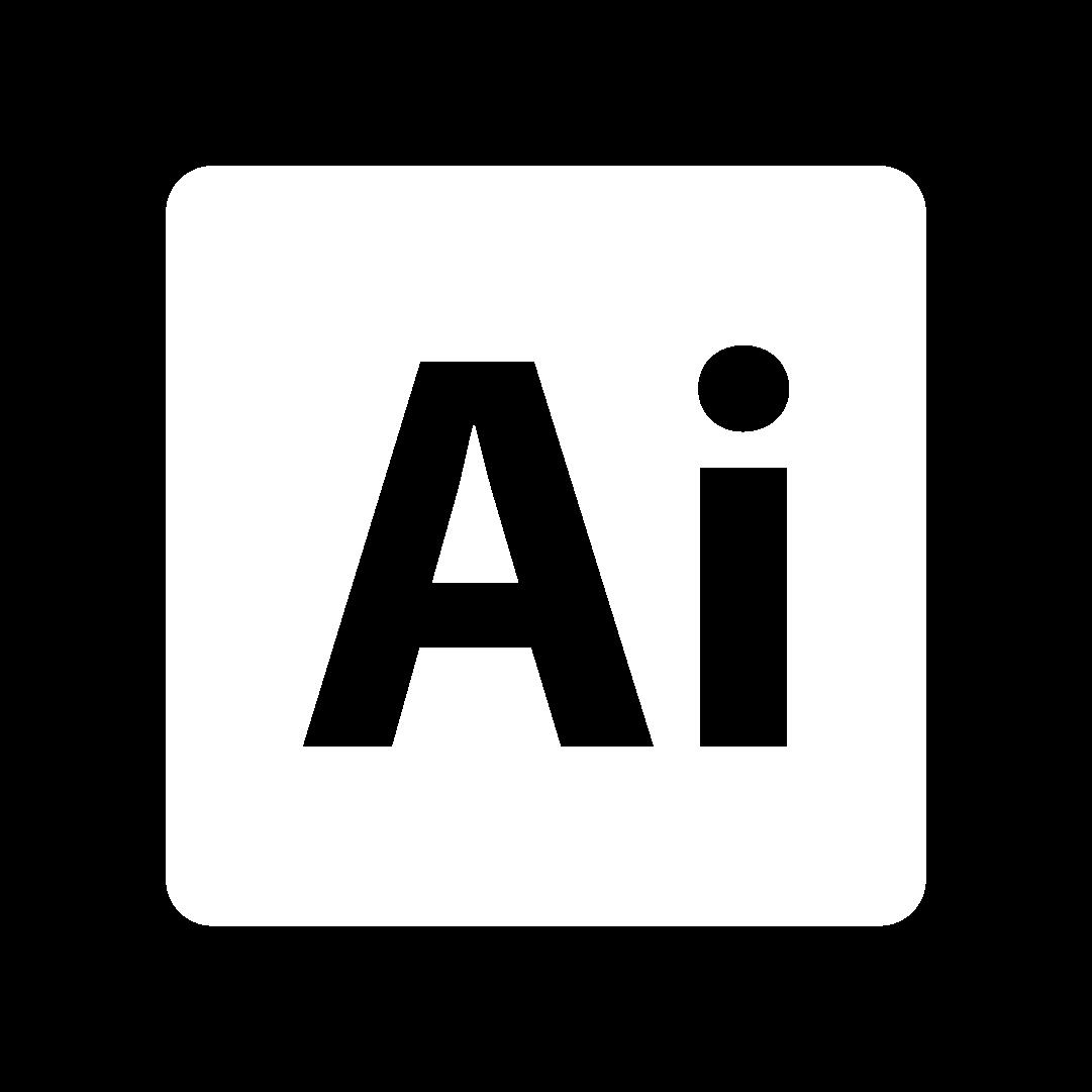 Icono de Adobe Ilustrator programa para diseñadores gráficos