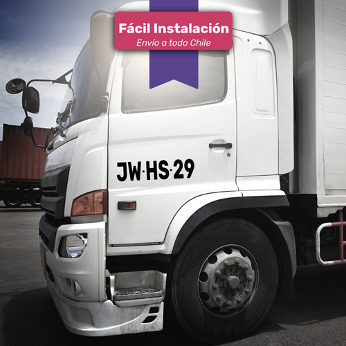 patente de vinilo sticker para camión